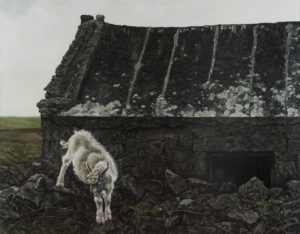 """""""Irsko"""" 2002, olej, plátno, 160x125 cm"""
