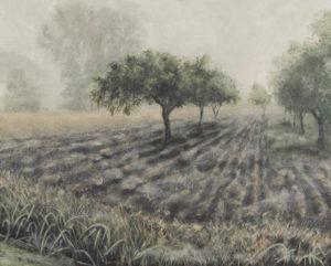 """""""Ostrov"""" 2004–2014, olej, plátno, 81x65 cm"""